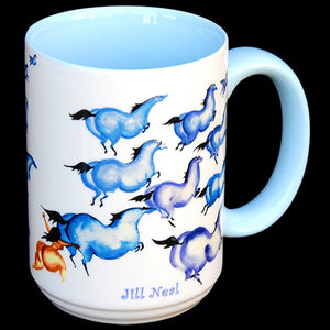 Chasing the Blues Mug