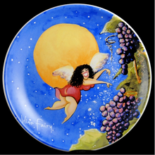 Load image into Gallery viewer, Wine-Themed Wild Women Dessert Plates
