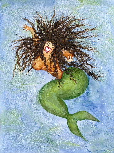 Sea Nymph Greeting Card