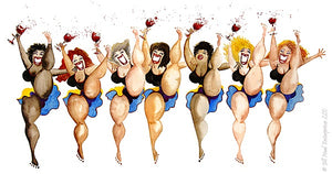 Winettes Greeting Card