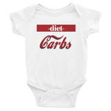 """Diet vs. Carbs"" Infant Bodysuit"