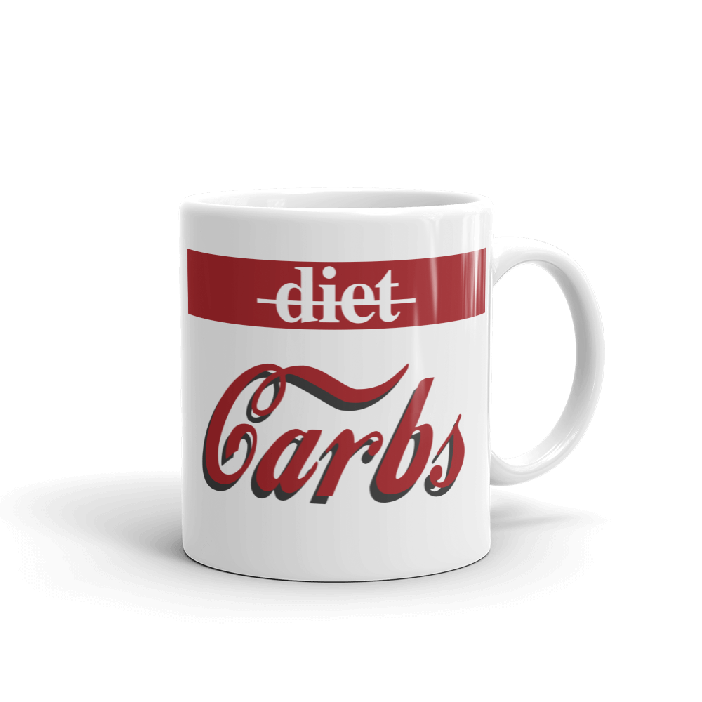 """Carbs vs. Diet"" Mug"