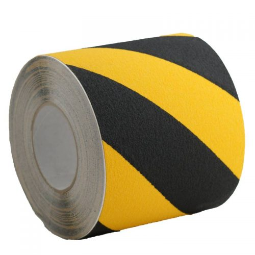 Yellow/Black Conformable Anti-Slip Tape
