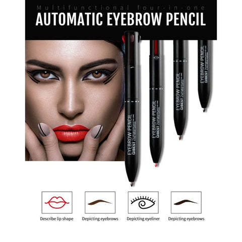 4 In 1 Automatic Eyebrow Pencil - LuxyGlow