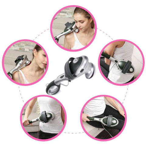 2 in 1 Massager with Infrared Therapy - LuxyGlow