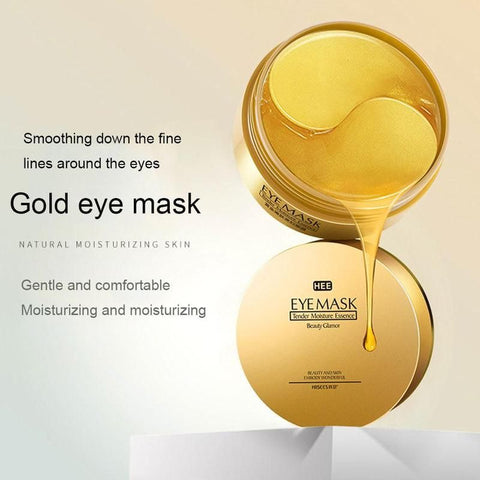 Gold/Seaweed Collagen Eye Mask - LuxyGlow