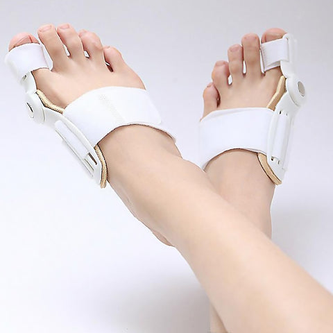 4pcs(2pcs splint+2pcs gel bunion) Toe Straightener Bunion Splint - LuxyGlow