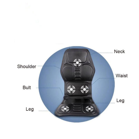 Electric Home Car Chair Massager - LuxyGlow