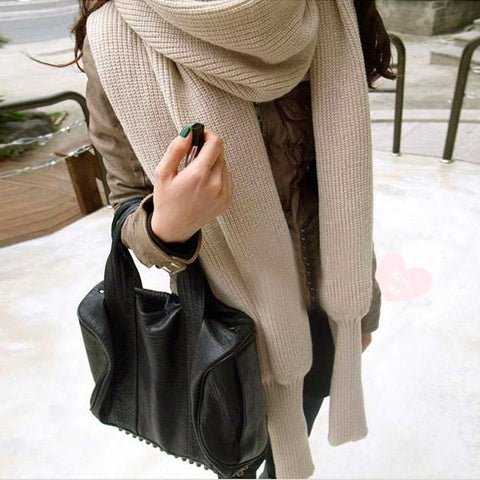 Long Sleeve Scarf - LuxyGlow