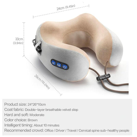 Multifunctional Massage Pillow - LuxyGlow