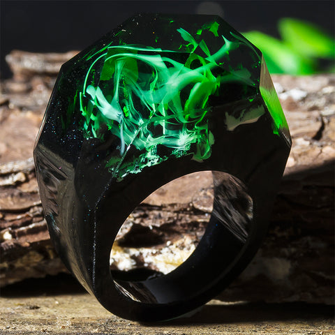 Wooden Resin Ring - LuxyGlow