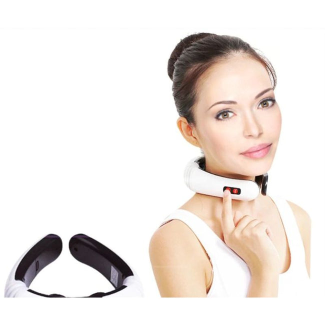 Electric Back and Neck Massager - LuxyGlow