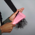 Detangle Hairbrush - LuxyGlow