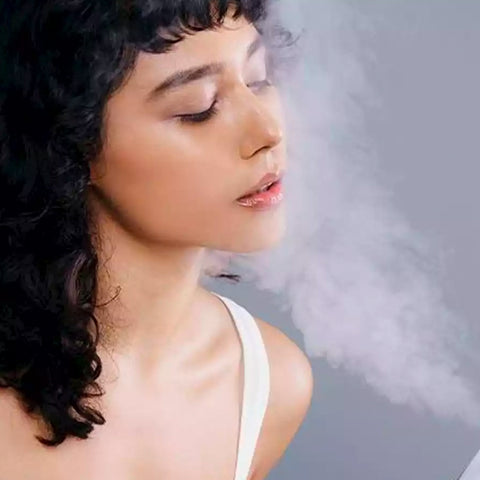 Face Cooling Steamer - LuxyGlow