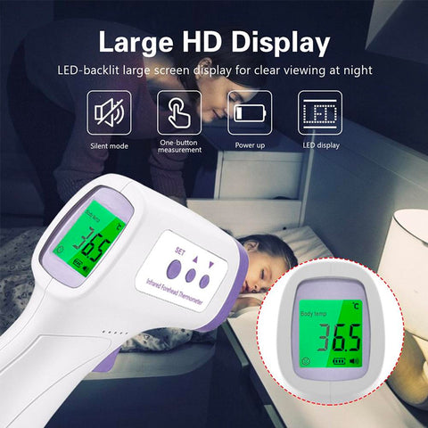 Infrared Thermometer - LuxyGlow