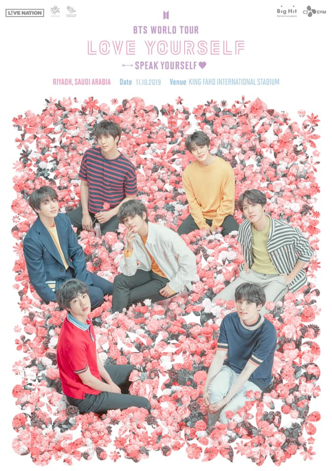 BTS WORLD TOUR Saudi Arabia Concert 2019.10.11