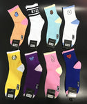 KPOP Bangtan Boys BTS BT21 RJ Cartoon Winter Women Socks Warm Stockings Short Socks Costume Cosplay Accessory Gift
