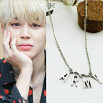 BTS Kpop ARMY Necklace Women Men Jewelry Collier Korea Fashion BTS Album Love Yourself Accessories 2017