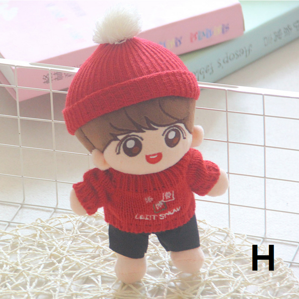Kpop For BTS Fans Gift Jungkook Shy Plush Happy For Bangtan Boys Soft Doll Toy Full Set Gift Korea 22cm/9inch 2019 New