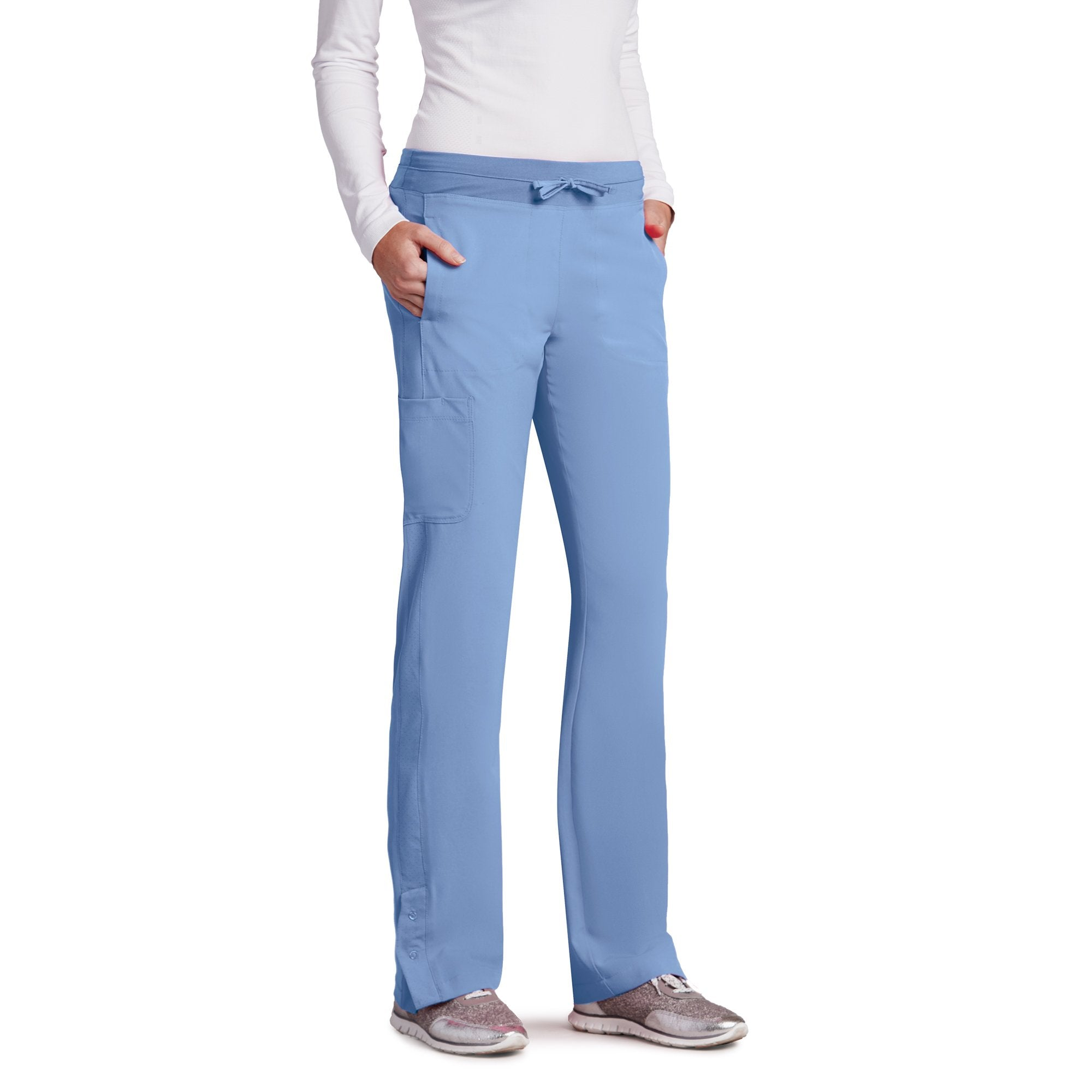 Barco One 5205 Petite 4-Pocket Cargo Track Pant