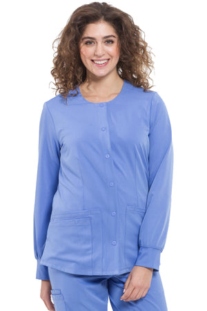 HH Works 5500 Megan Round Neck Warm-Up Scrub Jacket