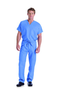 Landau 7502 Tall Unisex Scrub V-Neck Top
