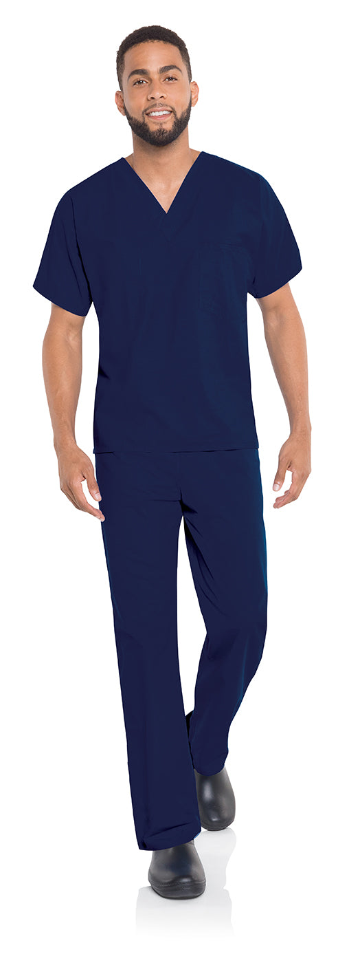 Landau 7502 Unisex Scrub V-Neck Top