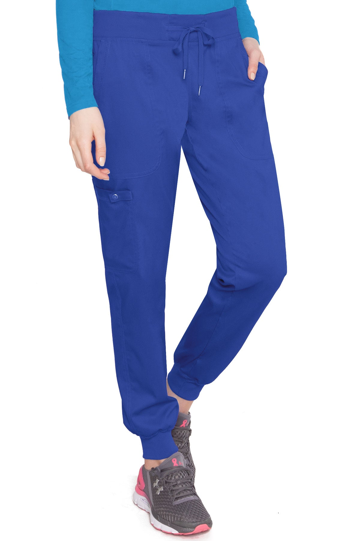 Med Couture Touch 7710 Petite Jogger Yoga Pant