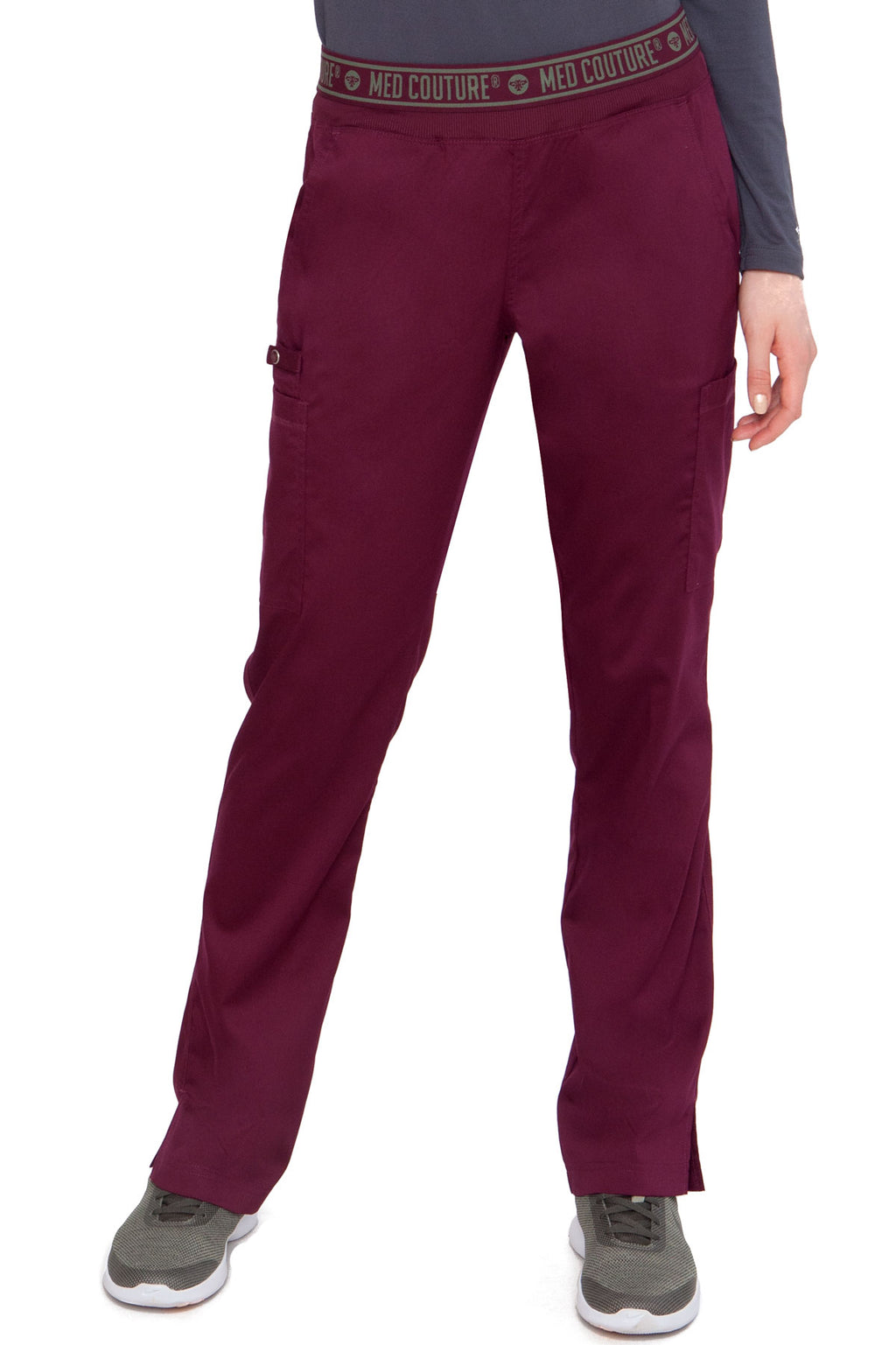 Med Couture Touch 7739 Yoga 2 Cargo Pocket Pant