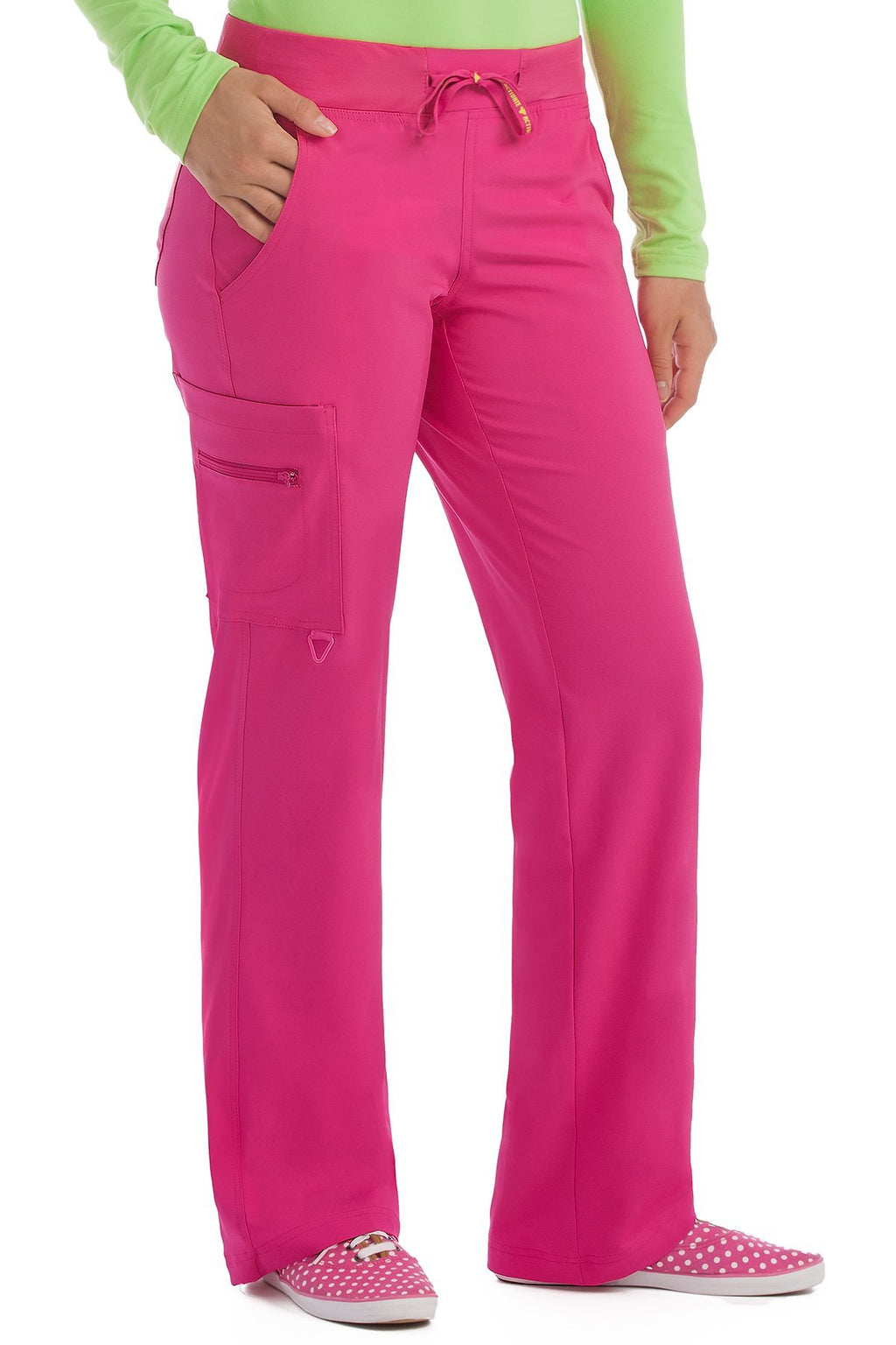 Med Couture Activate 8747 Tall Yoga 1 Cargo Pocket Pant