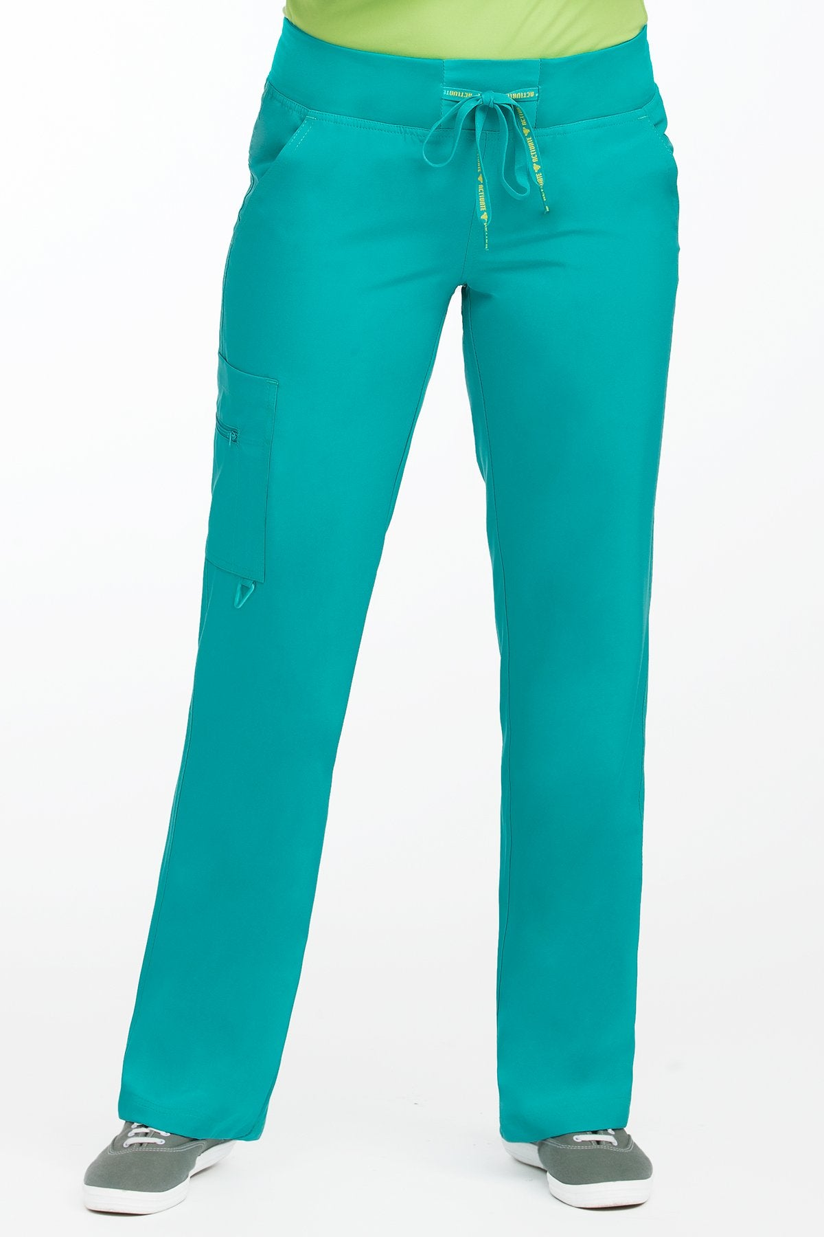 Med Couture Activate 8747 Petite Yoga 1 Cargo Pocket Pant