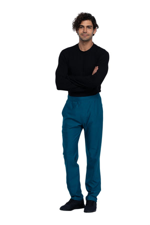 Cherokee Form CK185 Tall Men's Tapered Leg Pull-On Pant