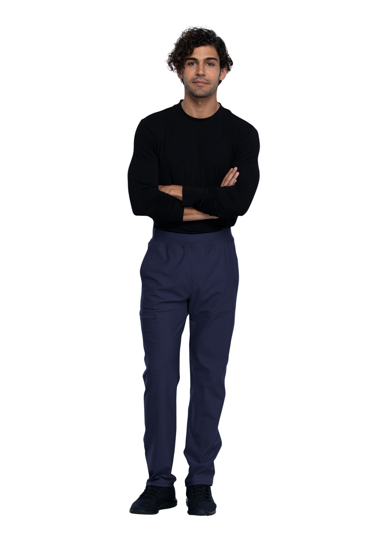 Cherokee Form CK185 Men's Tapered Leg Pull-On Pant