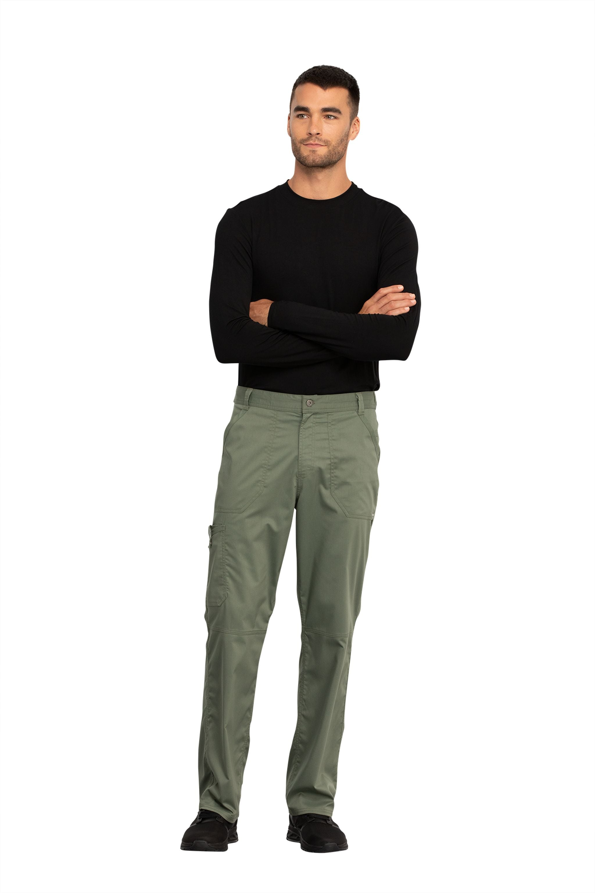 Cherokee Revolution WW140 Men's Fly Front Cargo Pant
