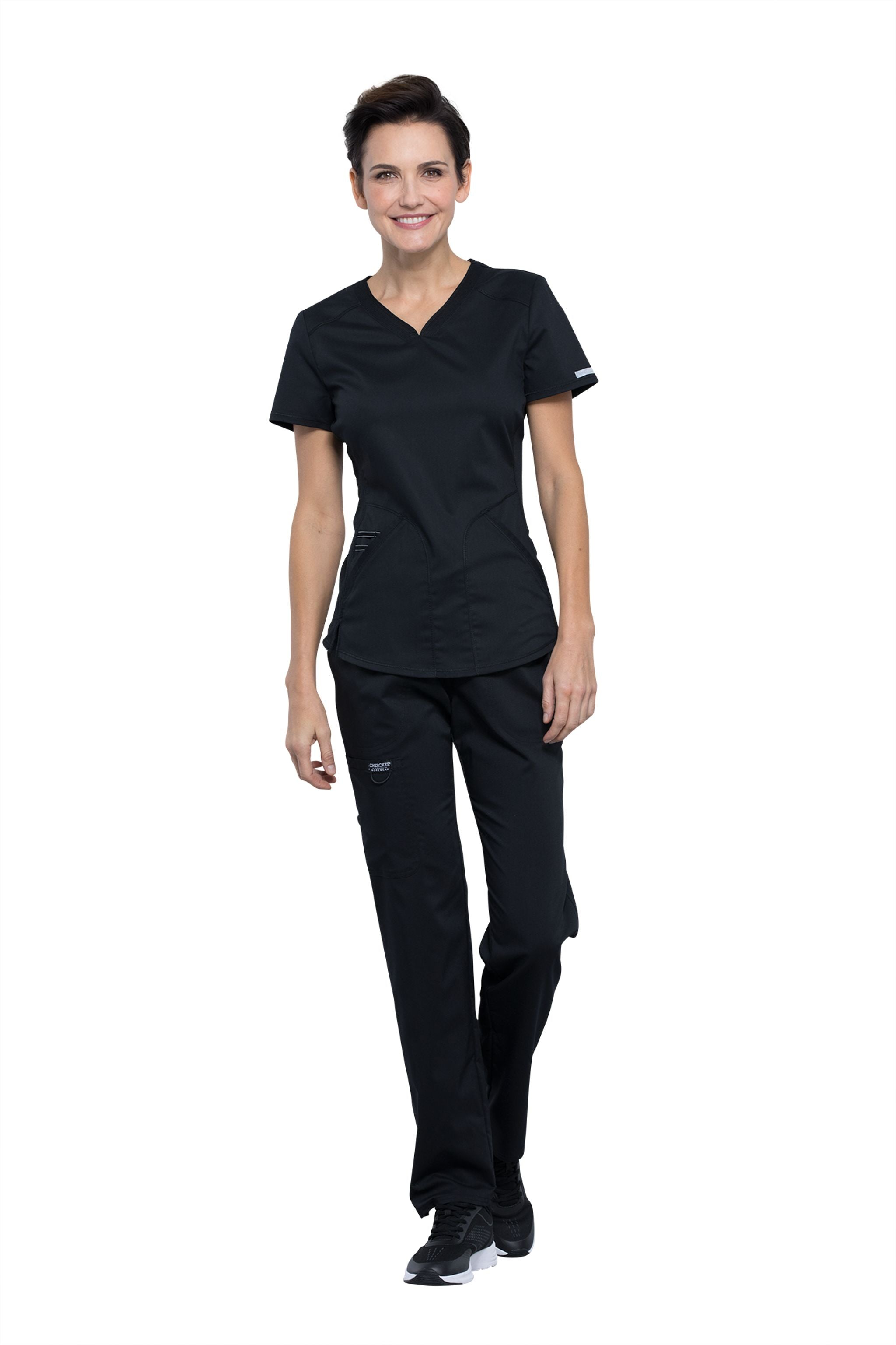 Cherokee Revolution WW601 Women's Sweetheart Neck Scrub Top