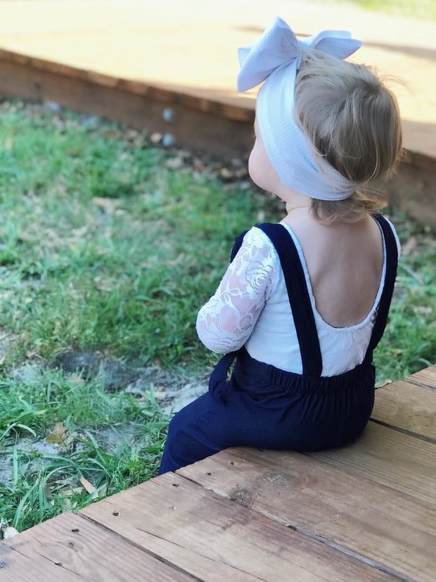 Snow White Lace Leotard