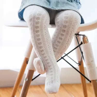 Snowflake tights