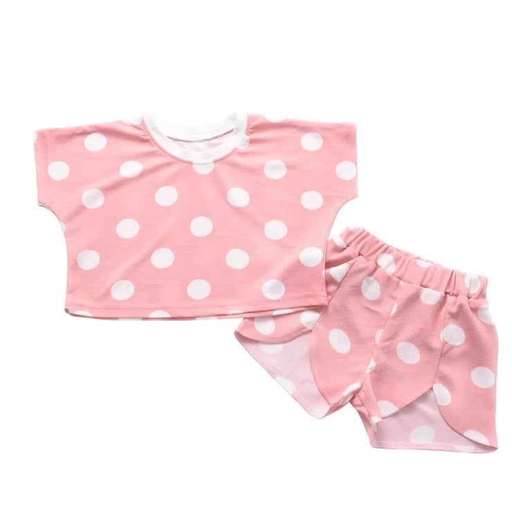 Ellie Polka Dot Short Set