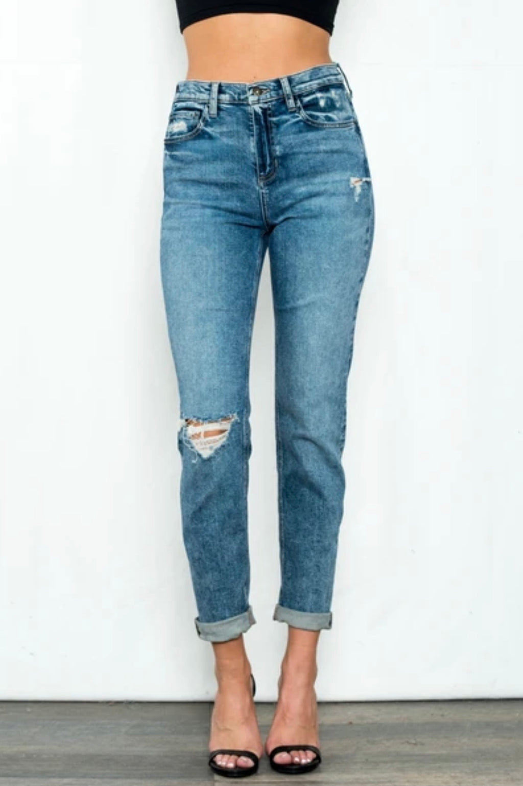 Augusta High Rise Tomboy Jeans