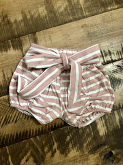 Blush Striped Tie Blooms