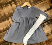 Noel Dress in Twilight Grey