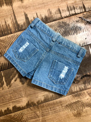 Blaire Distressed Shorties