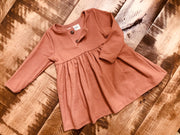 Belle Dress in Cinnamon
