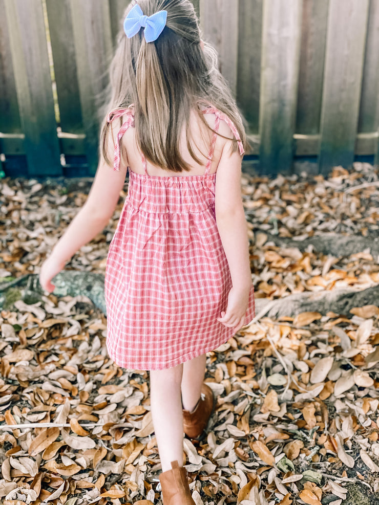 Delilah Plaid Dress