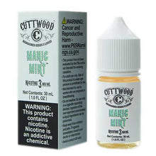 Load image into Gallery viewer, Cuttwood E-Liquids Reimagined Series - Manic Mint