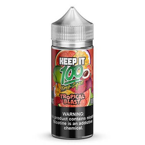 Keep It 100 E-Juice - Tropical Blast