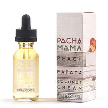 Load image into Gallery viewer, Pachamama E-Liquid - Peach Papaya Coconut Cream