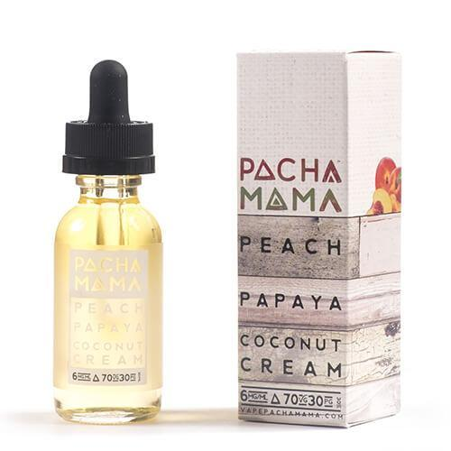 Pachamama E-Liquid - Peach Papaya Coconut Cream
