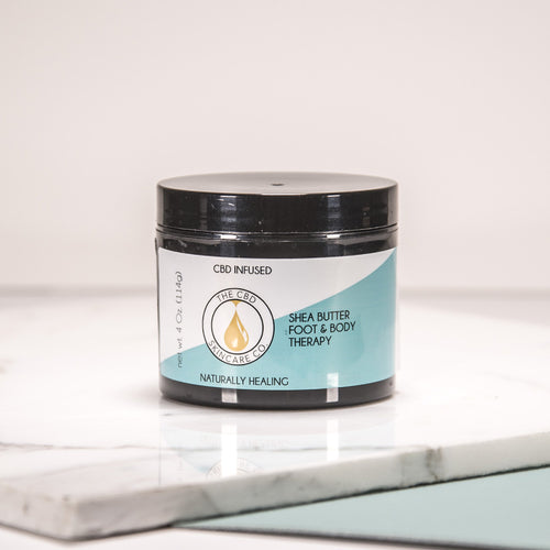 CBD Infused Shea Butter Foot & Body Therapy