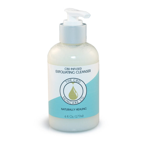 CBD Infused Exfoliating Cleanser
